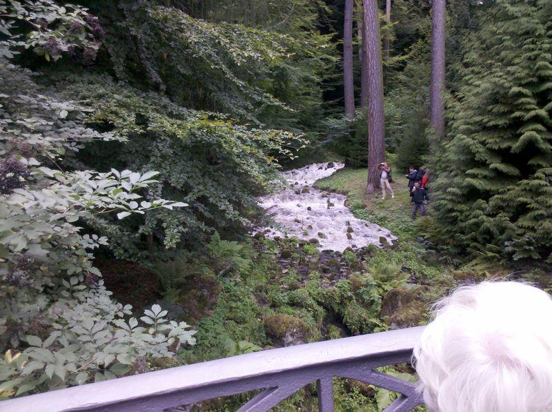 Wasserschwall Bergpark Kassel